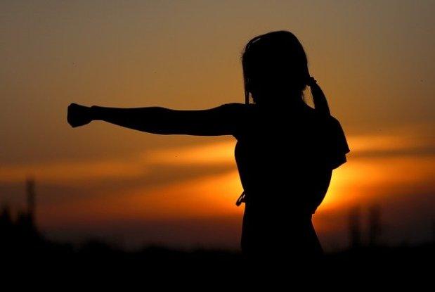 Karate, Kicks undKumite